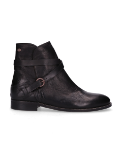 Ankle-Boot-Waxed-Leather-black