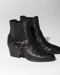 Chelsea-boot-printed-leather-Black