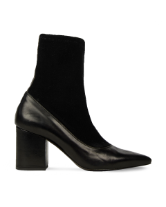 Ankle-boot-smooth-leather-with-velour-stretch-black