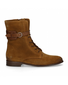 Ankle-boot-with-lace-up-suede-Mustard-Yellow