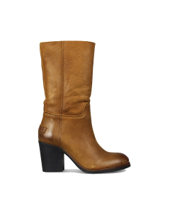 Boot-waxed-grain-leather-Caramel