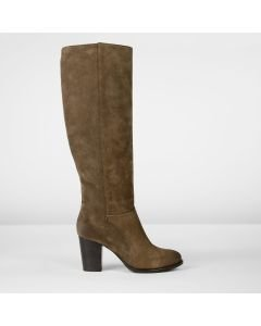 Boot suede Taupe