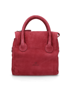 Handbag-hand-buffed-leather-Bordeaux