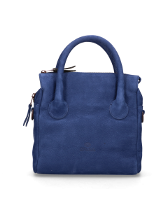 Handbag-hand-buffed-leather-Kobalt-Blue