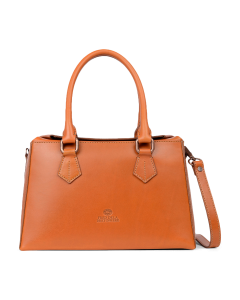 Handbag-Suzanna-smooth-leather-cognac