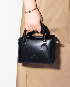 Handbag-smooth-leather-Black