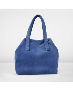 Shoulderbag-suede-cobalt-blue