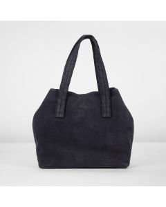 Shoulderbag-suede-dark-blue
