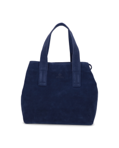 Shoulderbag-medium-suede-Blue