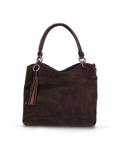 Shoulderbag-suede-with-naturally-dyed-smooth-leather-Antracite