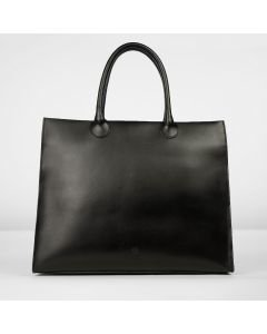 Workingbag-large-vegetable-tanned-leather-black