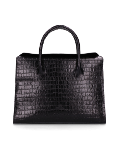 Businessbag-printed-leather-Black