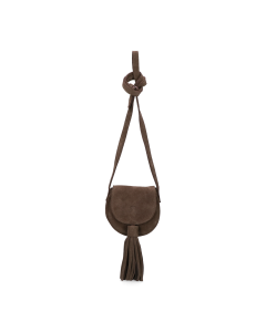 Cross-body-small-suede-Dark-Olive