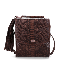 Cross-body-printed-leather-Dark-Taupe