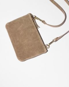 Evening-bag-suede-Taupe-