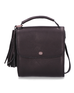 Cross-body-shiny-grain-leather-Black