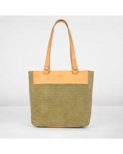 SHOPPINGBAG-MEDIUM-CROCO-PRINT-SUEDE-Taupe