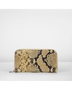 Wallet-medium-snake-printed-leather-taupe