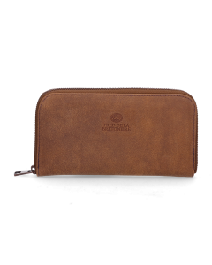 Wallet-medium-hand-buffed-leather-Brown