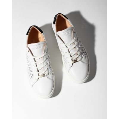 Sneaker-smooth-cutted-leather-White