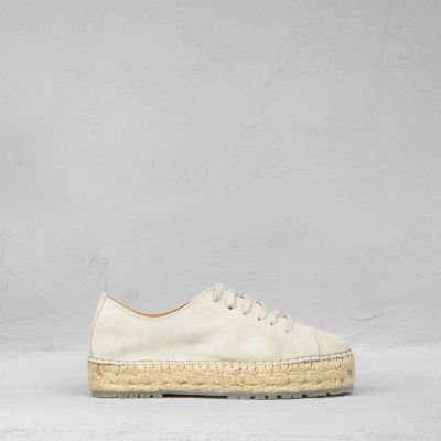 ESPADRILLE-LACE-UP-SUEDE-Off-White
