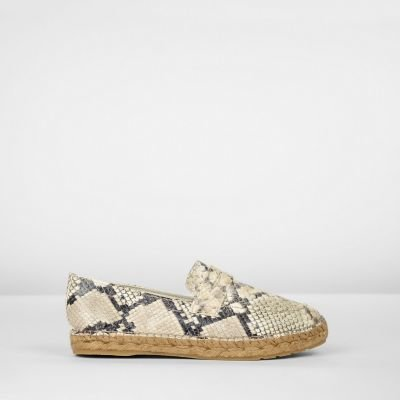 Penny-loafer-espadrille-leather-multi-snake-print-taupe-of-white