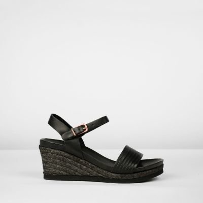 Espadrille-wedges-smooth-leather-black