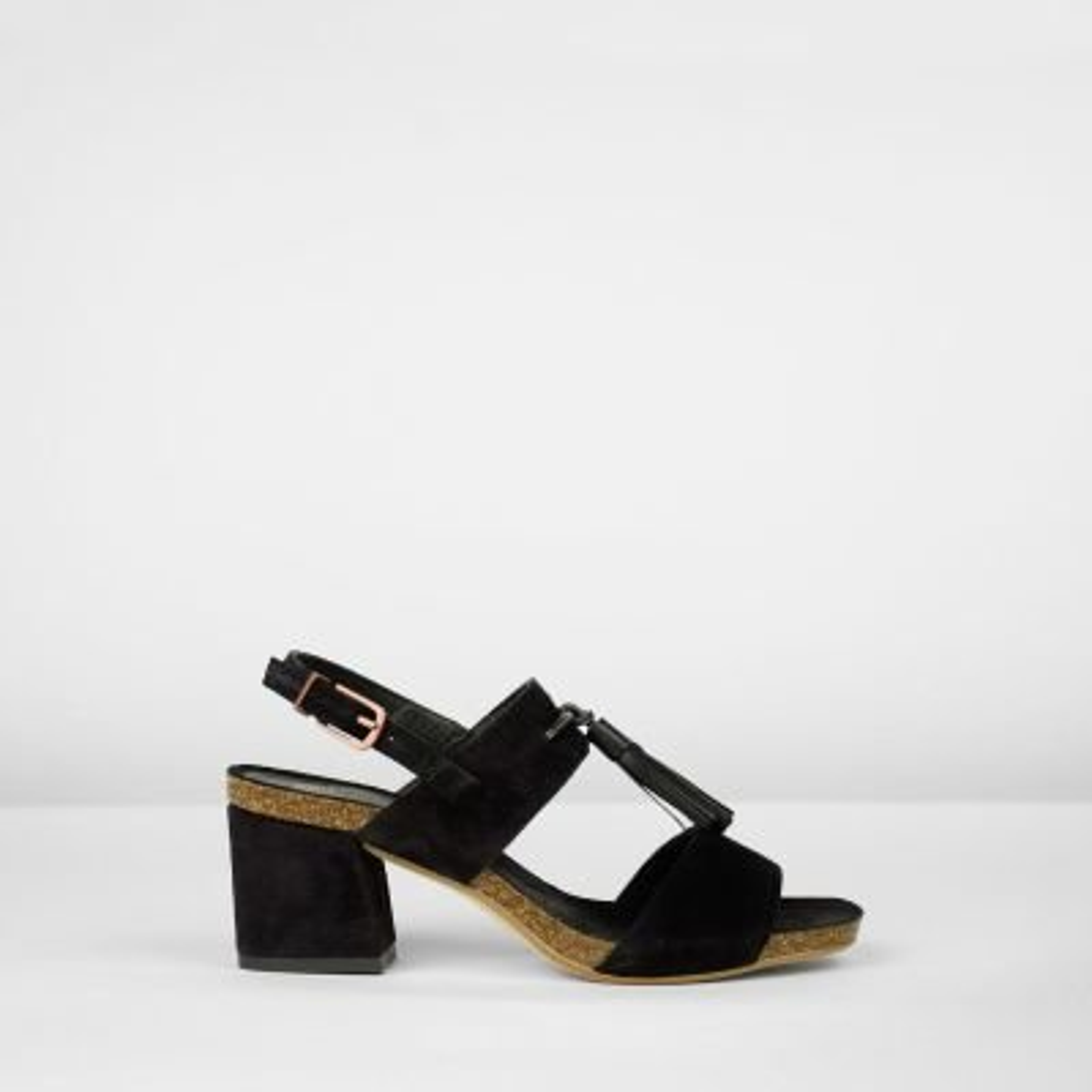Heeled-sandals-suede-black