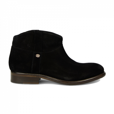 Ankle-boot-suede-Black-