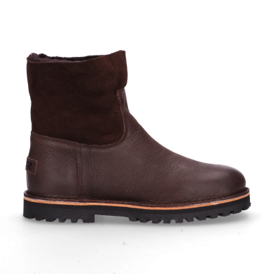 Ankle-boot-waxed-grain-leather-double-face-Dark-Brown