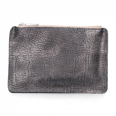 Wallet-grain-leather-Metallic