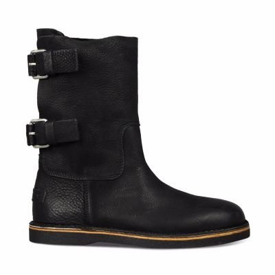 Ankle-boot-waxed-grain-leather-Black