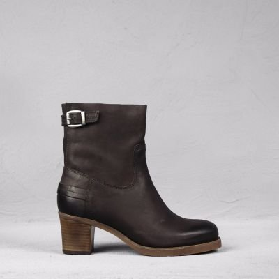 Ankle-boot-waxed-grain-leather-Dark-Brown
