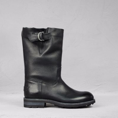 Boot-grain-leather-Black-