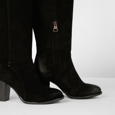Boot-suede-Black