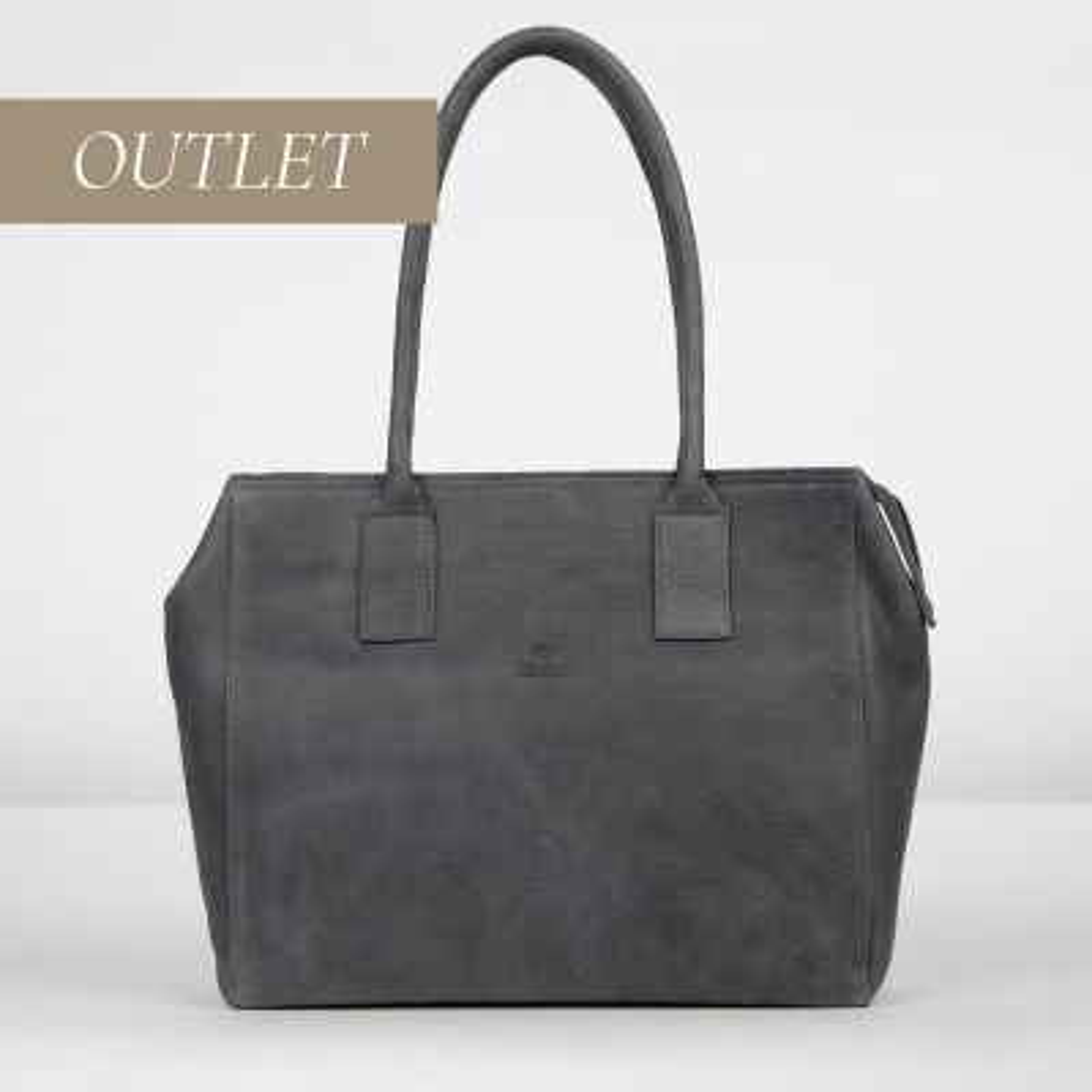 Handbag-medium-heavy-grain-leather-Black