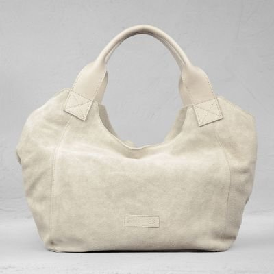 HANDBAG-MEDIUM-SUEDE-Sand