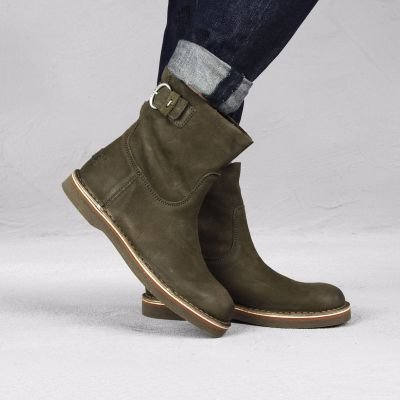 Ankle-boot-grain-leather-Taupe